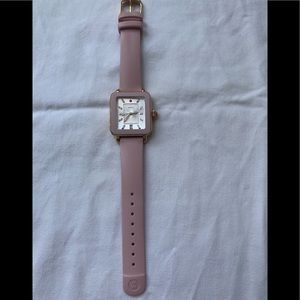 Women's Michele Deco Sport Watch & Silicone Strap